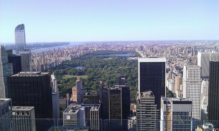 вид на центральный парк нью йорк