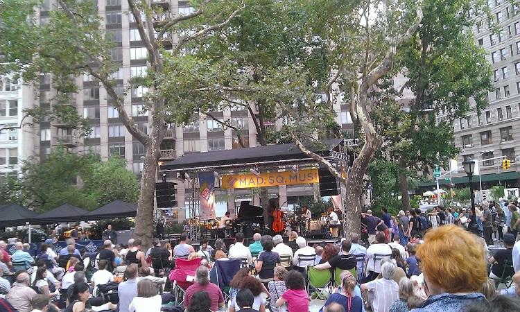 концерт в парке