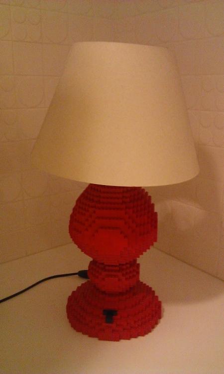 лего лампа