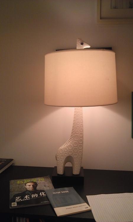лампа-жираф