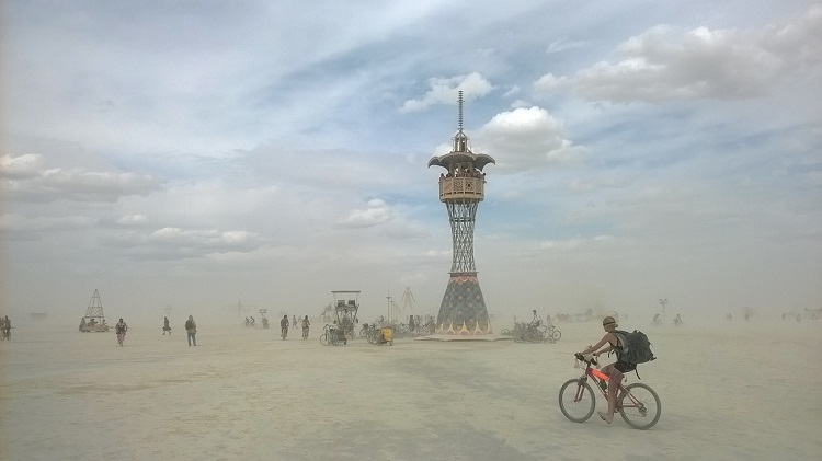 башня burning man
