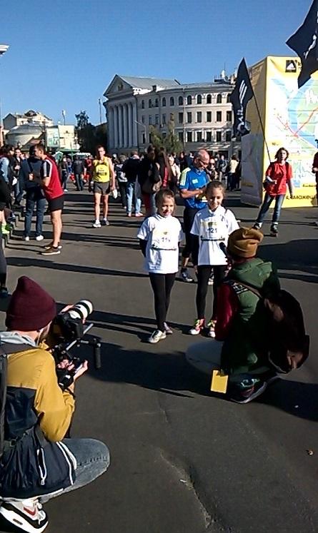 киевский полумарафон дети