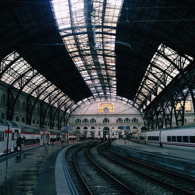 вокзал Барселона-Франция