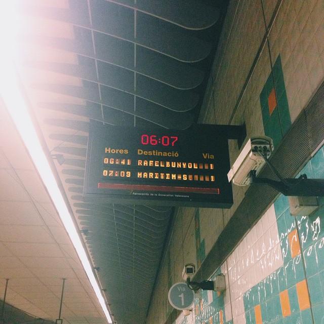 метро валенсия
