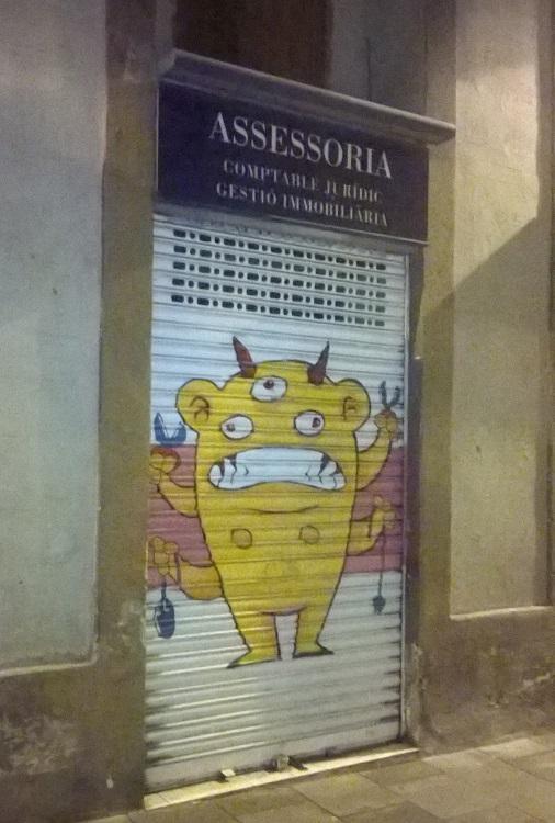 монстрик граффити