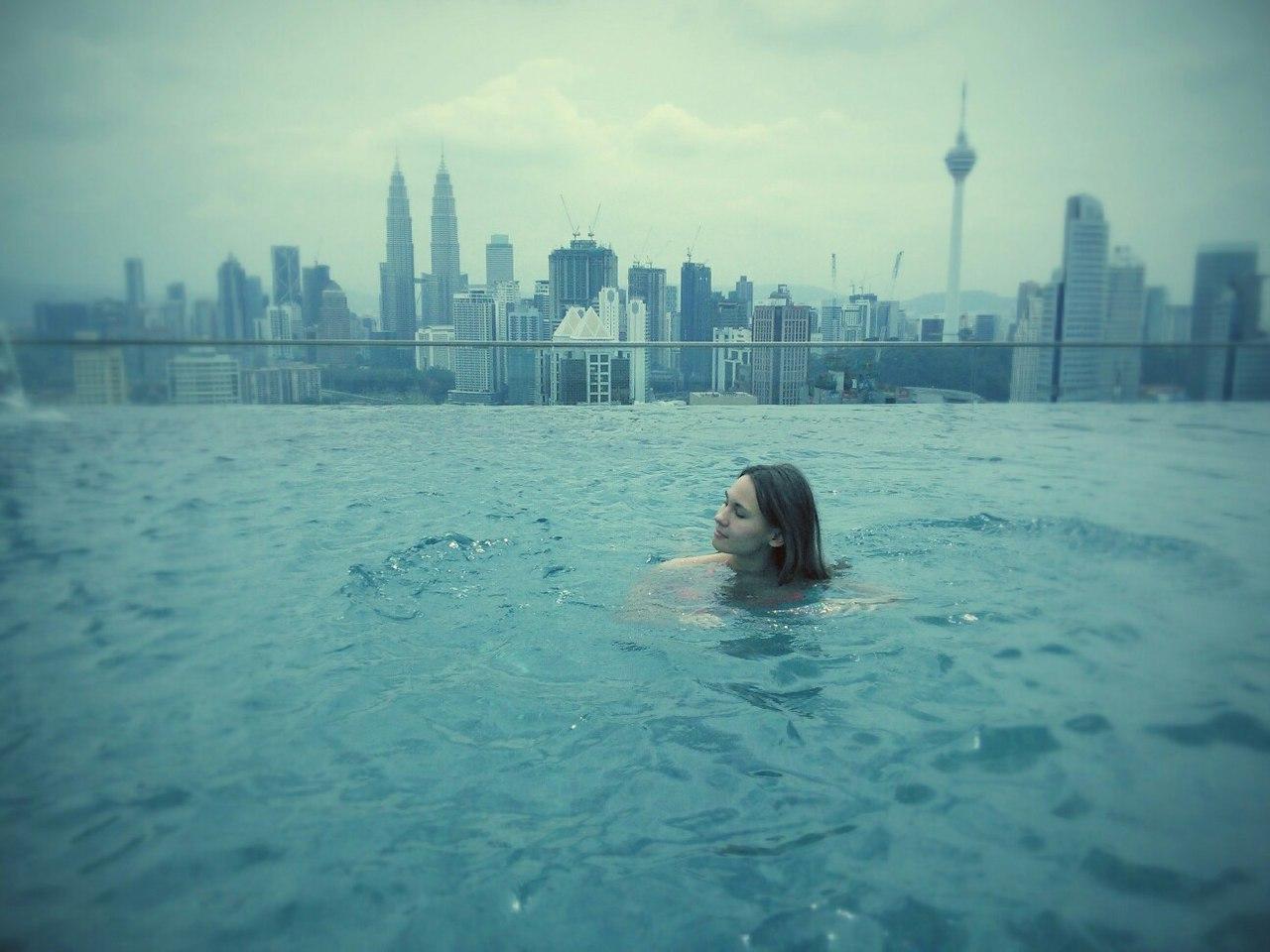 бассейн на крыше куала лумпур