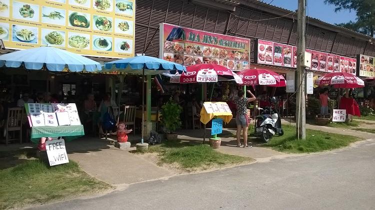 кафе бесплатный вайфай таиланд