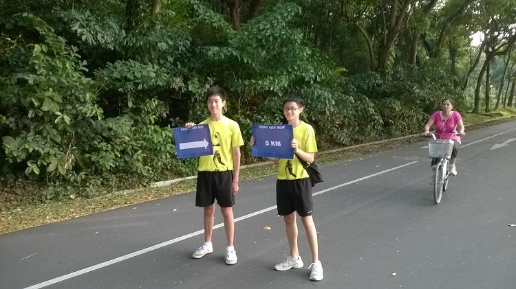 забег Терри Фокс Сингапур