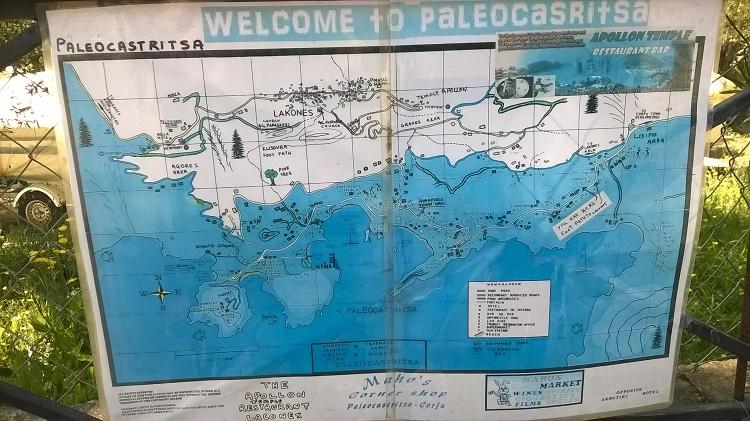 карта палеокастрица