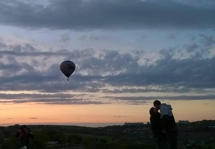 фестиваль воздушных шаров каменец