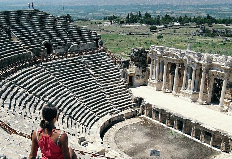памуккале античный театр