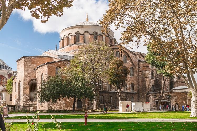 храм святой ирины стамбул